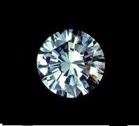 Бриллиант огранки Кр-57;<br> 1,58 карата. 2/4А;<br> диаметр 7,4мм